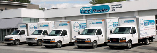 Plomberie CRT Therrien :: Services
